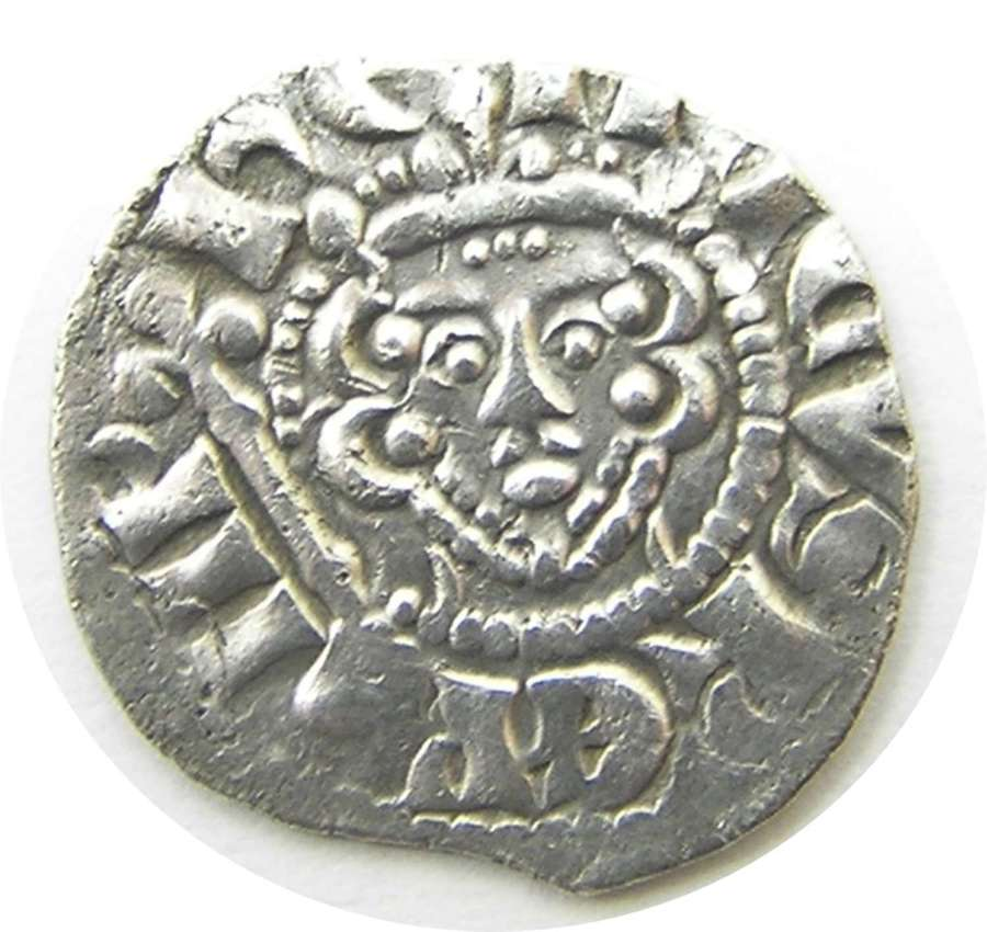 King Henry III Silver Penny Ricard of London