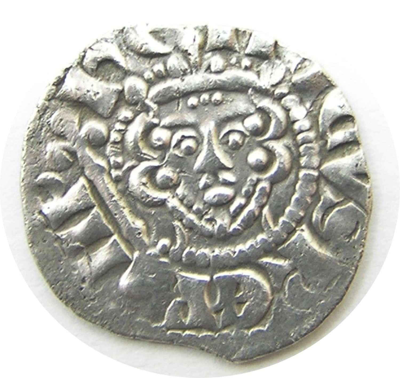 King Henry III Silver Penny Ricard of London