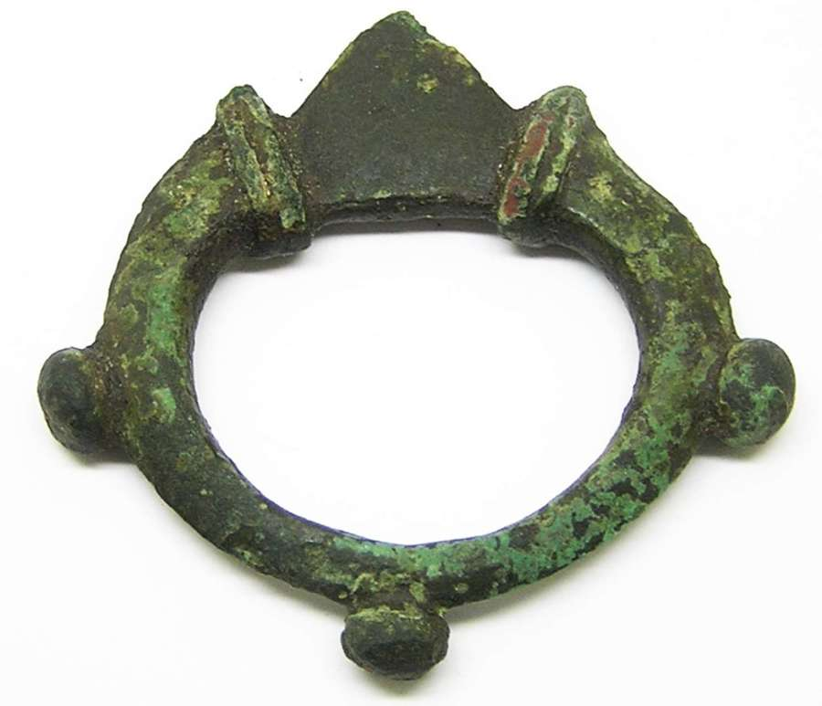 British Iron Age Celtic Terret Ring Horse Harness Fitting