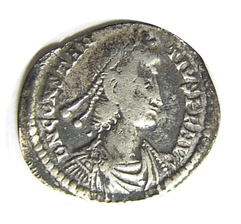 Ancient Roman silver Siliqua of Constantius II / Arles