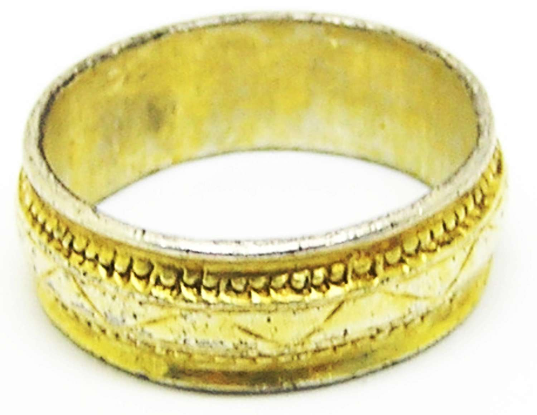 Late Medieval silver-gilt finger ring